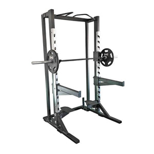 Muscle D Fitness MD-DHR Deluxe Half Rack 3D View