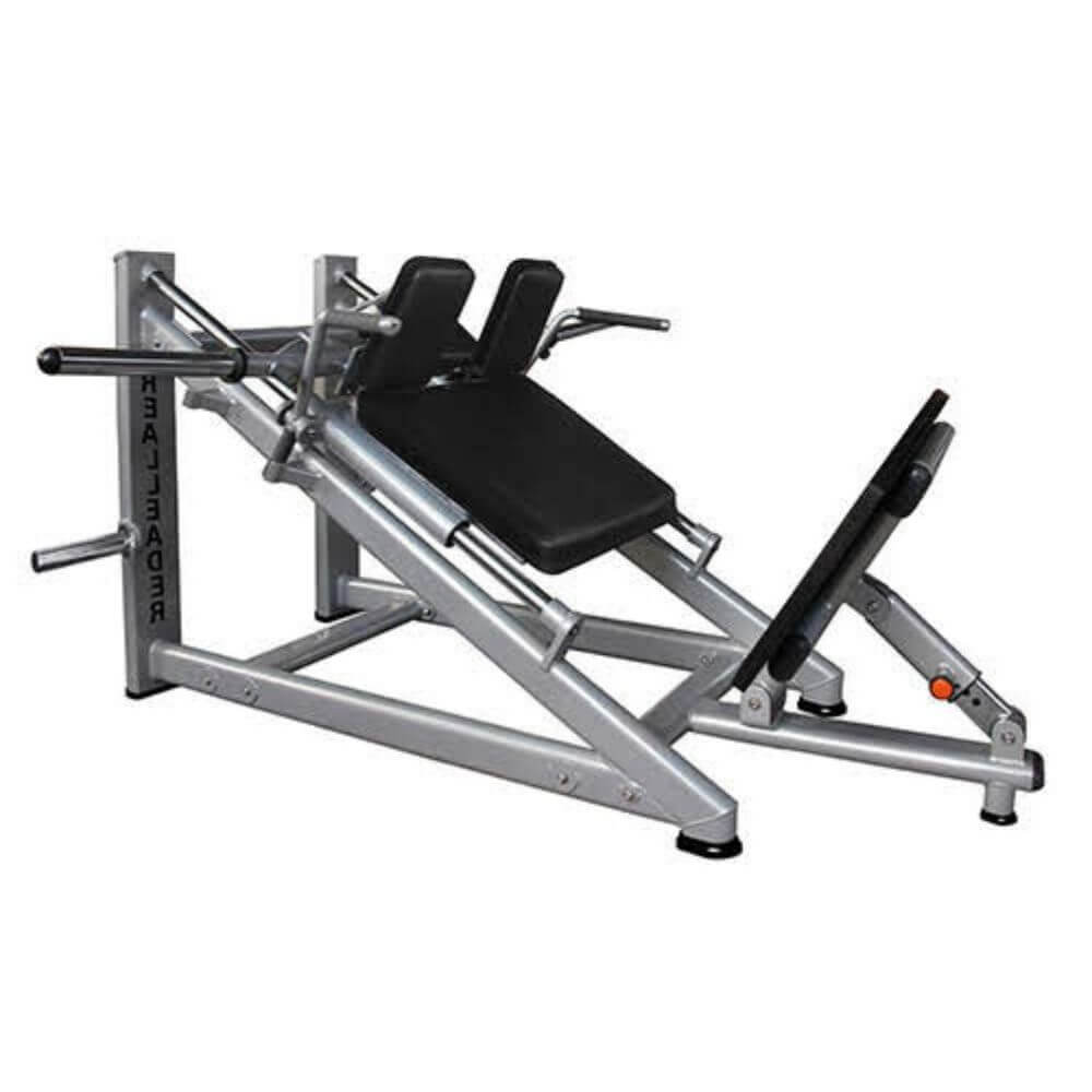 Muscle D Fitness MD-HSM MD Series 30 Degree Linear Hack Squat 3D View