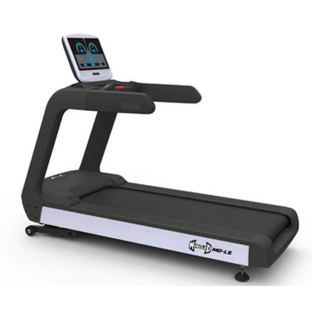 Muscle D Fitness MD-LS LED Screen Treadmill 3D View