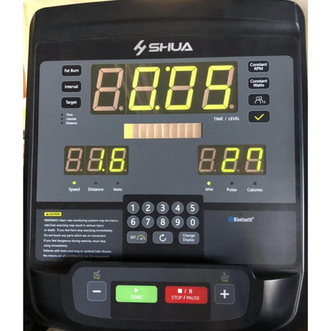 Muscle D Fitness MD-RB Commercial Recumbent Bike Control Panel