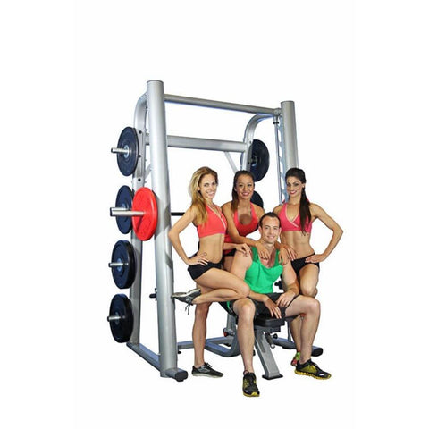 Muscle D Fitness MD-SM85 85_ Smith Machine 3D View Group