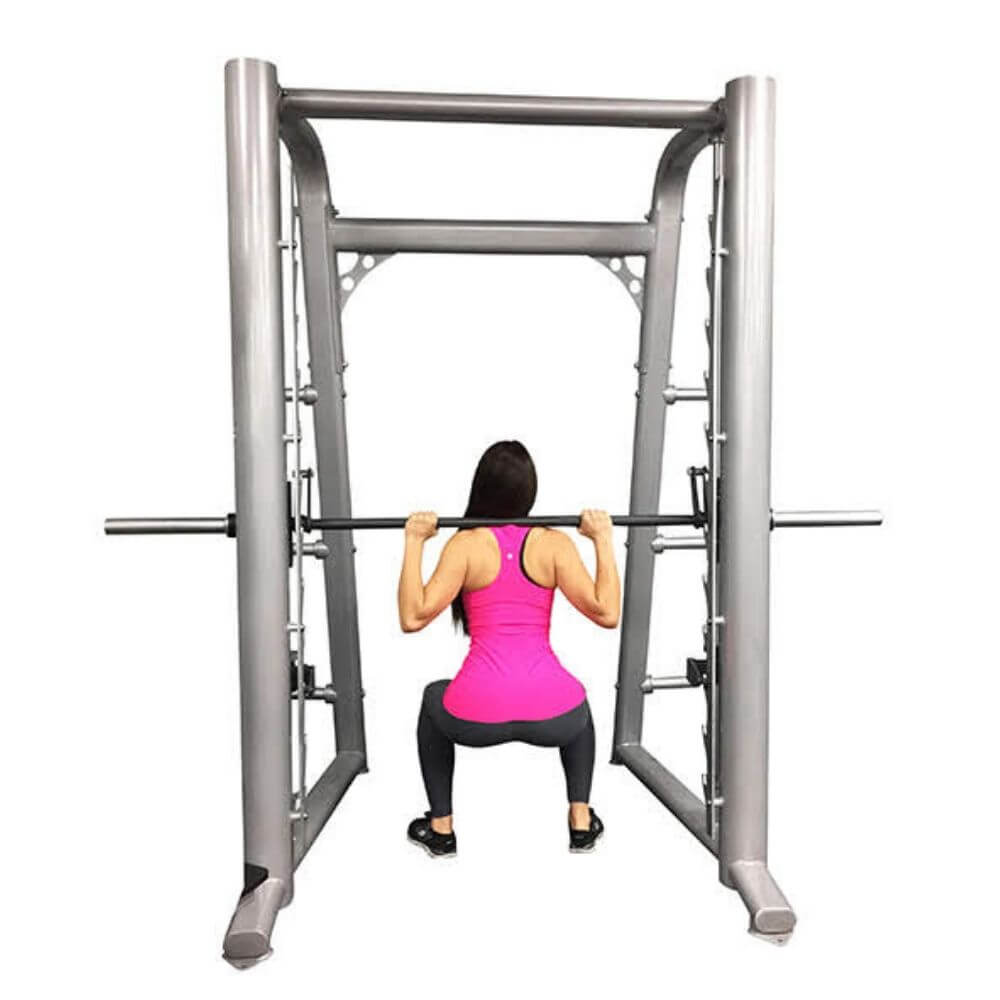 Muscle D Fitness MD-SM85 85_ Smith Machine Back View Squat