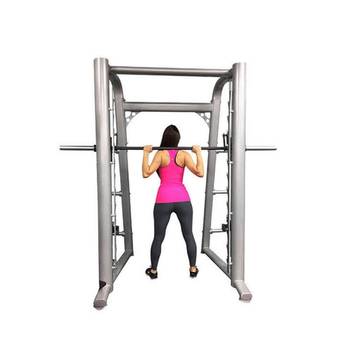 Muscle D Fitness MD-SM85 85_ Smith Machine Back View Standing