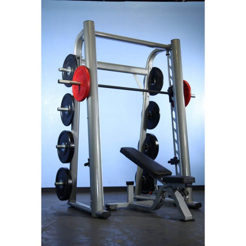 Muscle D Fitness MD-SM93 93_ Smith Machine 3D View With Plates