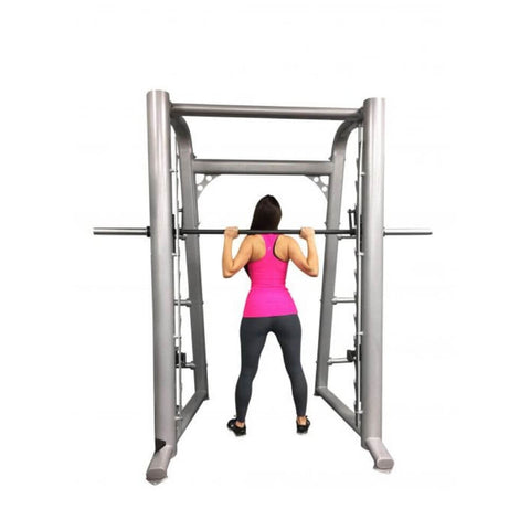 Muscle D Fitness MD-SM93 93_ Smith Machine Back View Standing