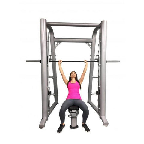 Muscle D Fitness MD-SM93 93_ Smith Machine Front View Sitting
