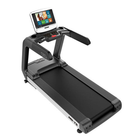 Muscle D Fitness MD-TS Touch Screen Treadmill Top Side View