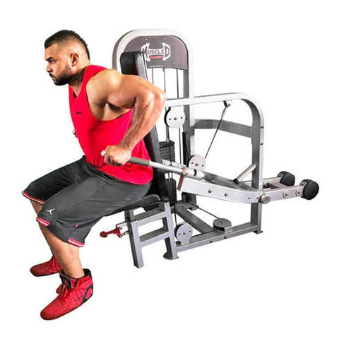 Muscle D Fitness MDC-1011A Classic Line Tricep_Dip Machine Side View