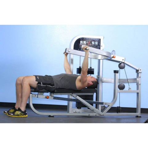 Image of Muscle D Fitness MDD-1001 Dual Function Line Multi Press Combo 3D View Bench Press Decline