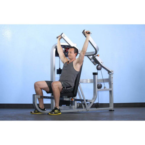 Image of Muscle D Fitness MDD-1001 Dual Function Line Multi Press Combo 3D View Shoulder Press