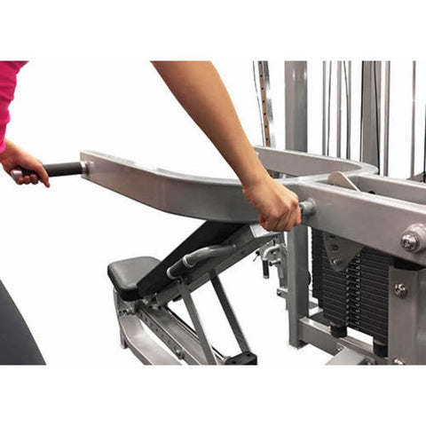 Image of Muscle D Fitness MDD-1001 Dual Function Line Multi Press Combo Inclined Close Up View