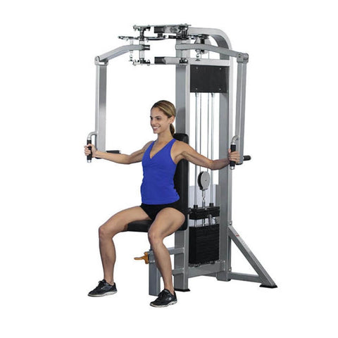 Image of Muscle D Fitness MDD-1003 Dual Function Line Pec Deck_Rear Delt Combo Front View