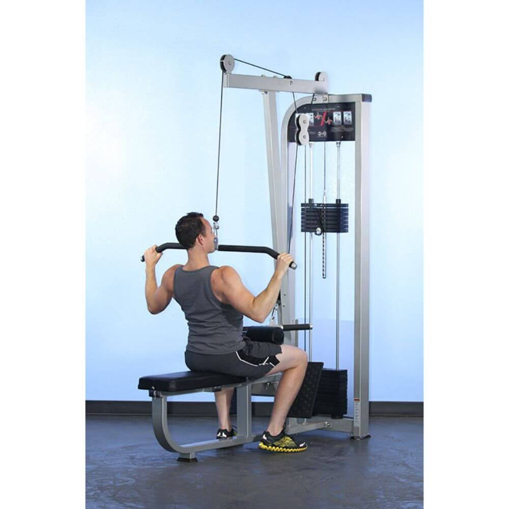 Muscle D Fitness MDD-1004 Dual Function Line Lat_Low Row Combo Downward