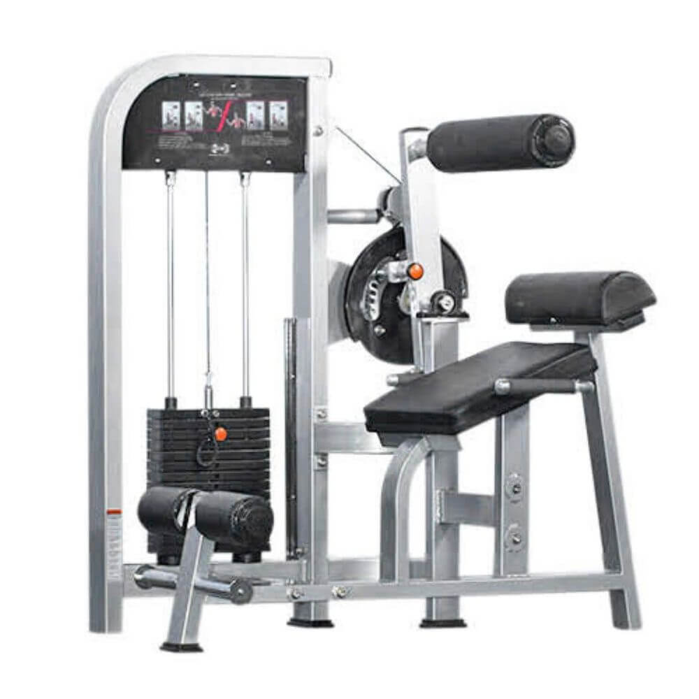 Muscle D Fitness MDD-1005 Dual Function Line Ab_Back Combo 3D View
