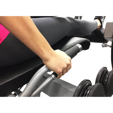 Muscle D Fitness MDD-1007A Dual Function Line Leg Extension_Seated Leg Curl Combo Close Up View