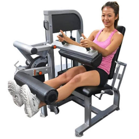 Image of Muscle D Fitness MDD-1007A Dual Function Line Leg Extension_Seated Leg Curl Combo Leg Extended