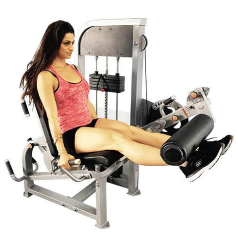Muscle D Fitness MDD-1007A Dual Function Line Leg Extension_Seated Leg Curl Combo Side View
