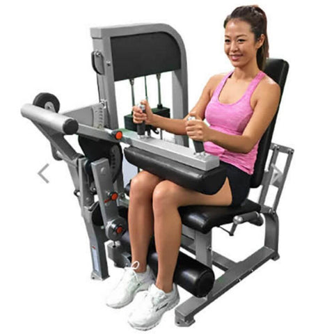 Image of Muscle D Fitness MDD-1007A Dual Function Line Leg Extension_Seated Leg Curl Combo Sitting Without Pads