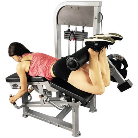 Muscle D Fitness MDD-1007 Dual Function Line Leg Extension_Prone Leg Curl Combo Back View Prone