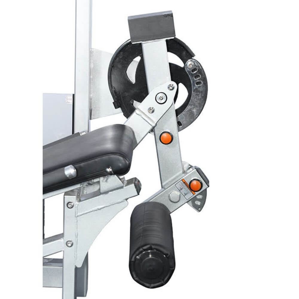 Muscle D Fitness MDD-1007 Dual Function Line Leg Extension_Prone Leg Curl Combo Close Up View