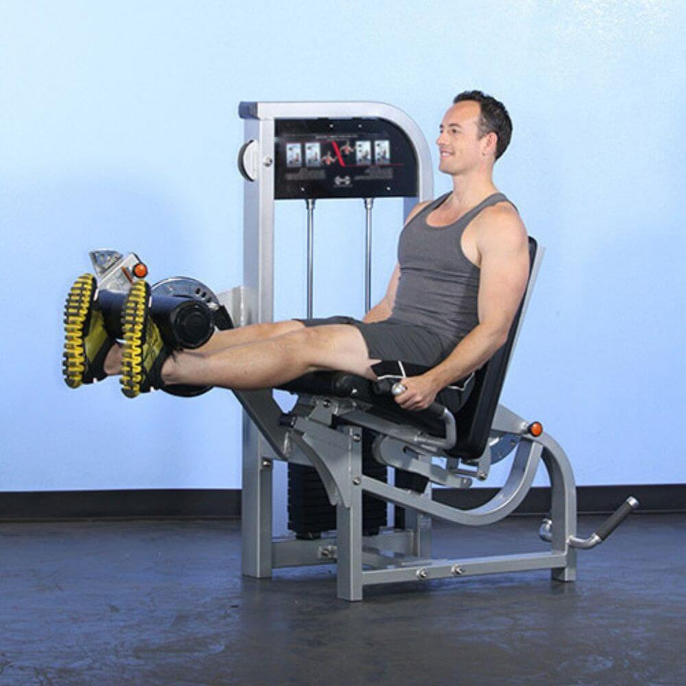 Muscle D Fitness MDD-1007 Dual Function Line Leg Extension_Prone Leg Curl Combo Leg Extended