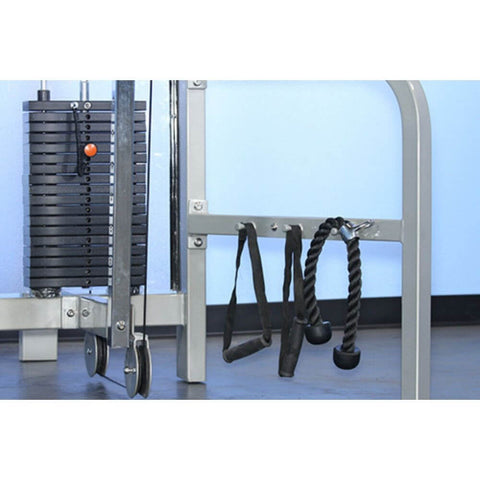 Muscle D Fitness MDD-1010 Dual Function Line Hi_Low Pulley Combo Stack