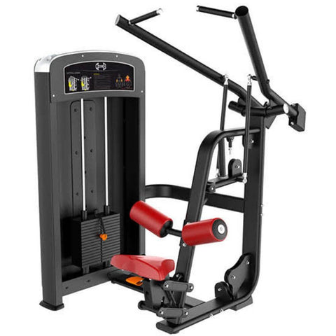 Muscle D Fitness MDE-03 Elite Line Lat Pulldown 3D View