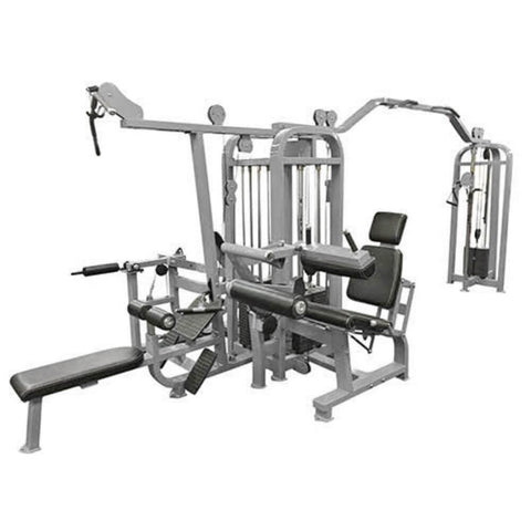 Muscle D Fitness MDM-5SC Multi Stations Compact 5-Stack Multi Gym Back View