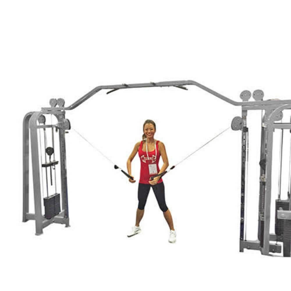 Muscle D Fitness MDM-5SC Multi Stations Compact 5-Stack Multi Gym Pulleys