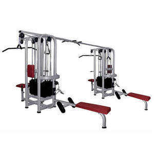 Muscle D Fitness MDM-8R Multi Stations Standard 8-Stack Jungle Gym 3D View