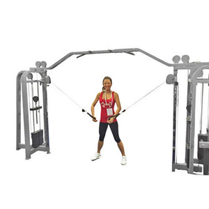 Muscle D Fitness MDM-CCC Multi Stations Compact Cable Crossover Front View