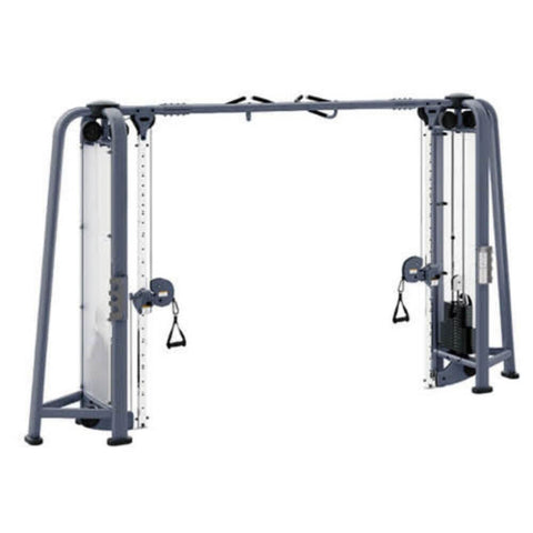Muscle D Fitness MDM-CCS Multi Stations Deluxe Cable Crossover Front View