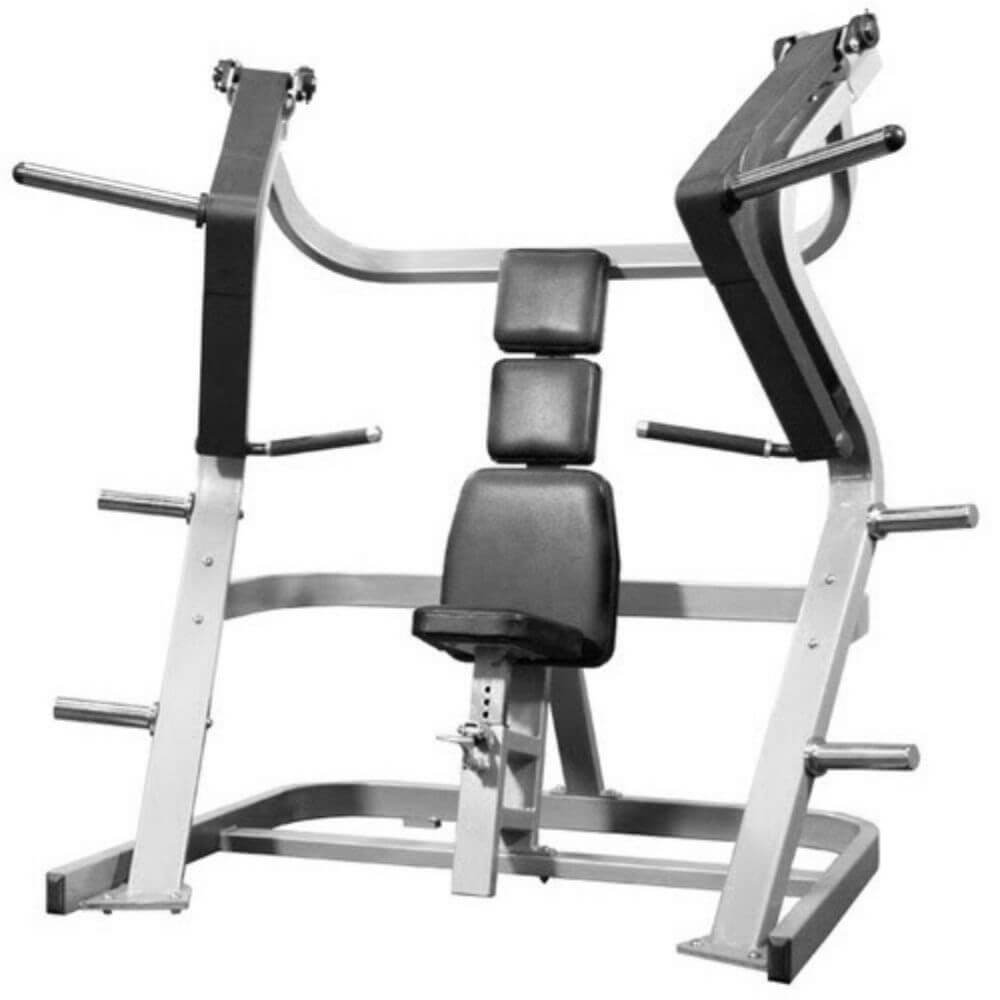 Muscle D Fitness MDP-1001 Power Leverage Iso Lateral Chest Press 3D View
