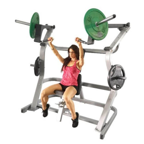 Muscle D Fitness MDP-1003 Power Leverage Iso Lateral Wide Chest Press 3D View With Model