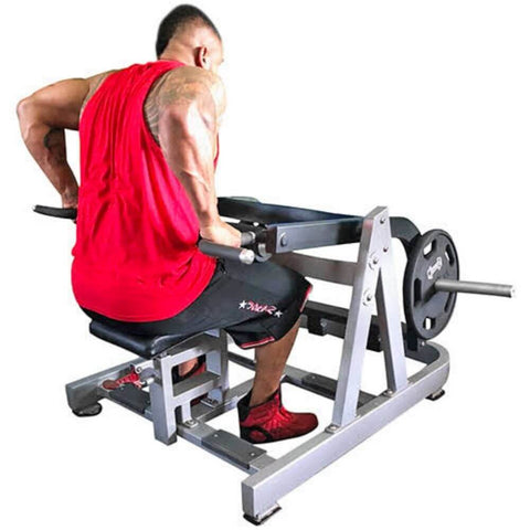 Muscle D Fitness MDP-1031 Power Leverage Dip_Tricep Machine 3D View With Model