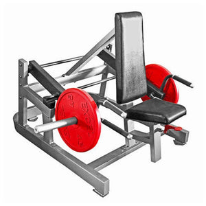 Muscle D Fitness MDP-1032 Power Leverage Seated Standing Shrug 3D View