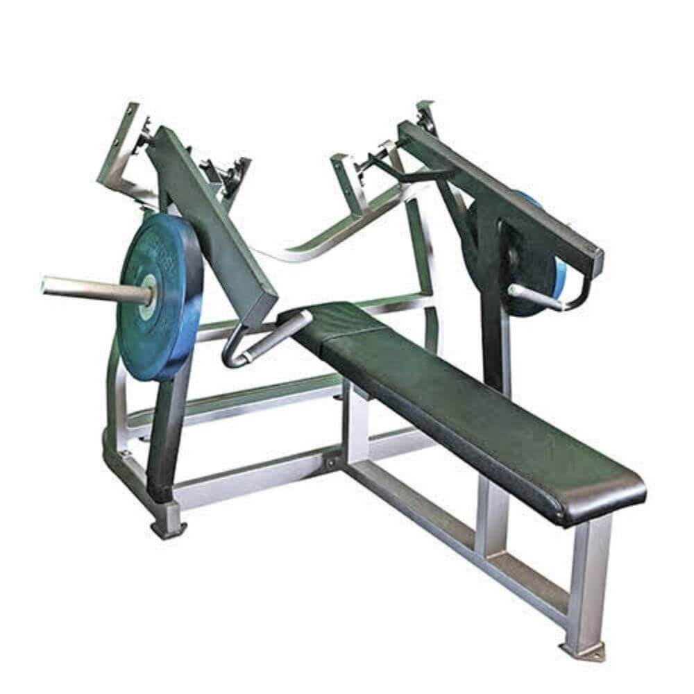 Muscle D Fitness MDP-1038 Power Leverage Horizontal Bench Press 3D View