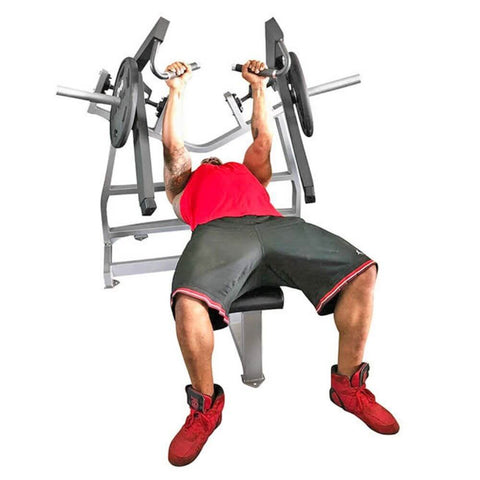 Image of Muscle D Fitness MDP-1038 Power Leverage Horizontal Bench Press Front View