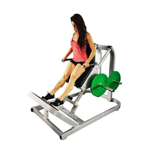 Muscle D Fitness MDP-2003 Power Leverage Incline Calf Raise Legs Extended Inclined