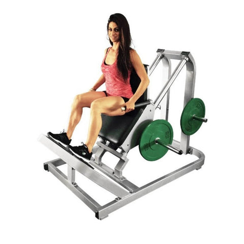 Muscle D Fitness MDP-2003 Power Leverage Incline Calf Raise Top Front Side View
