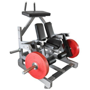 Muscle D Fitness MDP-2008 Power Leverage Kneeling Leg Curl 3D View Close Up