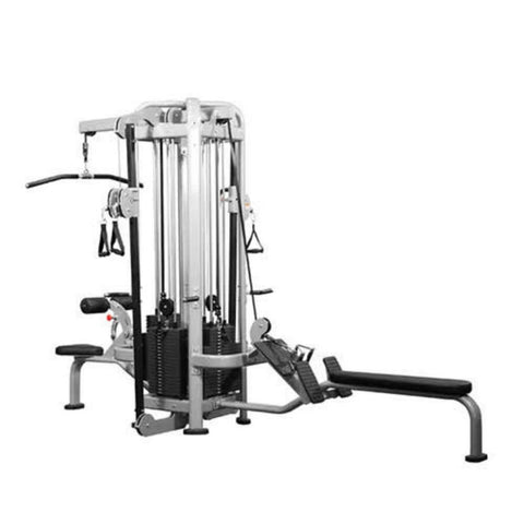 Muscle D Fitness Multi Stations Deluxe 4-Stack Jungle Gym Version A 3D View