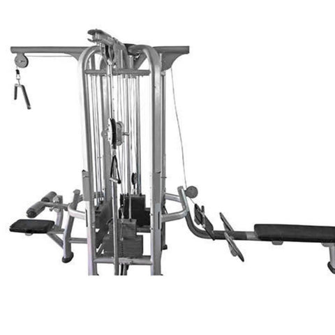 Muscle D Fitness Multi Stations Deluxe 4-Stack Jungle Gym Version A