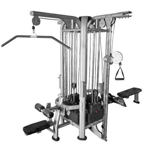 Muscle D Fitness Multi Stations Deluxe 4-Stack Jungle Gym Version B