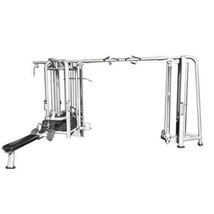 Muscle D Fitness Multi Stations Deluxe 5-Stack Jungle Gym Version A