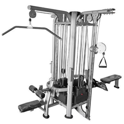 Muscle D Fitness Multi Stations Deluxe 5-Stack Jungle Gym Version A Attachment 2