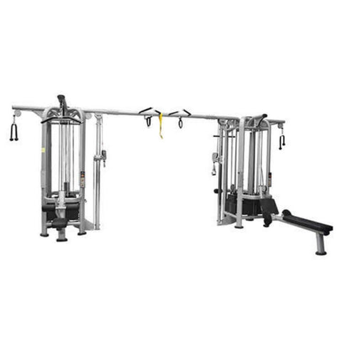 Muscle D Fitness Multi Stations Deluxe 8-Stack Jungle Gym Version A
