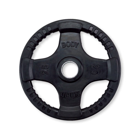 Body-Solid Tools Rubber Grip Olympic Plates ORT