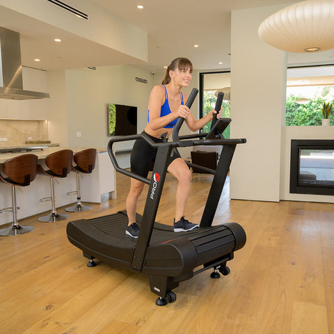 Pro 6 Arcadia Air Runner Treadmill Female Model 3D View
