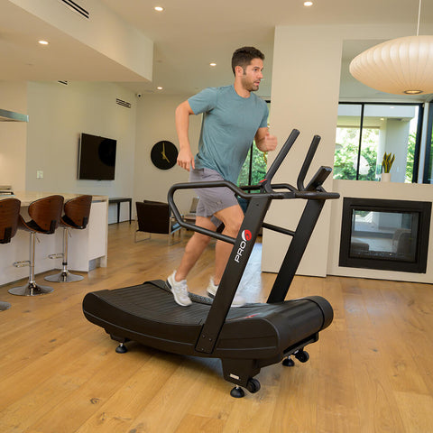 Pro 6 Arcadia Air Runner Treadmill Male Model 3D View